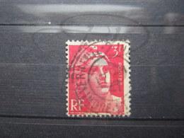 """VEND TIMBRE DE FRANCE N° 716 , CACHET """" VERNEUIL-S-INDRE """" !!! - 1945-54 Marianne De Gandon"""