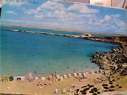 MALTA Paradise Bay Cirkewwa STAMP TIMBRE  SELO POSTA AEREA KNIGHTS 4d 1966 GX5670 - Malta