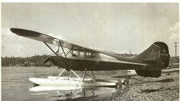 AERONCA SUPER CHIEF ON EDO 92 1400 FLOATS 85 HP   Aeronautical Corporation Of America 20 * 11 CM - Aviation
