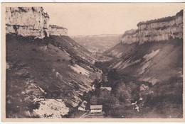 Hotel Du Belvédére - à Cranzot - Vue Générale De La Vallée Des Grottes - Baume-les-Messieurs