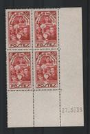 N° 312 En Coin Daté 1936 Neuf** à 20% - 1930-1939