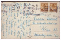 Böhmen Und Mähren (005585) AK Mährisch Ostrau Mit Viktoria Rollstempel Von Märisch- Ostrau Gelaufen Am 18.12.1941 - Briefe U. Dokumente