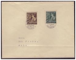 Böhmen Und Mähren (005591) Beleg FDC Mit MNR 136/ 137 Mit Tagesstempel Von Pardubice Am 20.4.1944 - Briefe U. Dokumente
