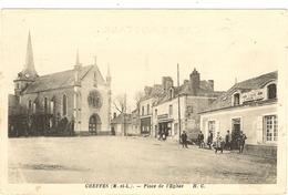 49 -  CHEFFES Place De L'église 107 - France