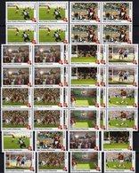 FIFA Championat 2004 Tome+Principe 8 Marken+4-Blocks ** 40€ Fußball-WM Blocs Voetball Ss Soccer Sheets Bf Football - Stamps