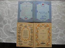 Année 60  3 Protèges Cahiesr 2 RIPOLIN - 1 CORONA - Book Covers