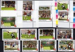 Championat 2006 Tome/Principe 8 Marken+ ER-Stücke ** 20€ FIFA Fußball-WM Bloc Sets S/s Soccer Sheetlets Bf Football - Sao Tome Et Principe