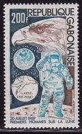 Republique Gabonaise 1974 5e Anniversaire Du Premier Pas Sur La Lune 200 Fr  Y&T P.A. 149** - Gabon (1960-...)
