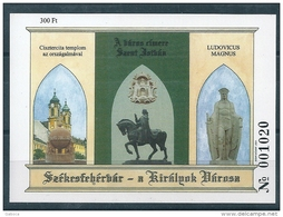1370 Hungary 2001 Szekesfehervar City Of The Kings Memorial Sheet MNH - Feuillets Souvenir