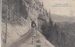 AK - NÖ - SCHÖNAUER TUNNEL Der Landesbahn St. Pölten-Mariazell 1914 - St. Pölten