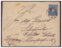 Japan (005614) Brief Gelaufen Yokohama Nach Goslar Am 18.12.1903 - Japan