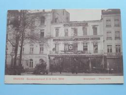 BOMBARDEMENT Antwerpen / Anvers 8 - 9 Oct 1914 Groenplaats / Place Verte ( Taverne ROYALE ) ( Zie Foto Voor Details ) ! - Guerre 1914-18