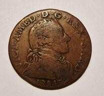 ITALIE. SARDAIGNE 5 SOLDI  1794. SARDINIA. ITALY. - Regional Coins
