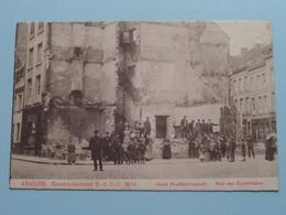 BOMBARDEMENT Antwerpen / Anvers 8 - 9 Oct 1914 Hoek Predikerinnenstr. - Rue Des Dominicains ( Zie Foto Voor Details ) ! - Guerre 1914-18