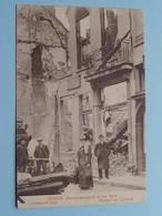 BOMBARDEMENT Antwerpen / Anvers 8 - 9 Oct 1914 Lombaarde Vest - Rempart Du Lombard ( Zie Foto Voor Details ) ! - Guerre 1914-18