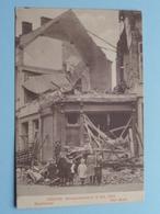 BOMBARDEMENT Antwerpen / Anvers 8 - 9 Oct 1914 Brantstraat - Rue Brant ( Zie Foto Voor Details ) ! - Guerre 1914-18