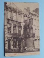 BOMBARDEMENT Antwerpen / Anvers 8 - 9 Oct 1914 Kasteelpleinstraat - Rue De L'Esplanade ( Zie Foto Voor Details ) ! - Guerre 1914-18