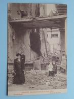 BOMBARDEMENT Antwerpen / Anvers 8 - 9 Oct 1914 Vredestraat - Rue De La Paix ( Zie Foto Voor Details ) ! - Guerre 1914-18