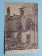 BOMBARDEMENT Antwerpen / Anvers 8 - 9 Oct 1914 Beddenstraat - Rue Aux Lits ( Zie Foto Voor Details ) ! - Guerre 1914-18