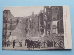 BOMBARDEMENT Antwerpen / Anvers 8 - 9 Oct 1914 Volkstraat - Rue Du Peuple ( Zie Foto Voor Details ) ! - Guerre 1914-18