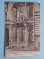 BOMBARDEMENT Antwerpen / Anvers 8 - 9 Oct 1914 Van Ballaerstraat - Rue Van Ballaer ( Zie Foto Voor Details ) ! - Guerre 1914-18