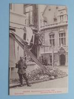 BOMBARDEMENT Antwerpen / Anvers 8 - 9 Oct 1914 Statiestraat BERCHEM Rue De La Station ( Zie Foto Voor Details ) ! - Guerre 1914-18