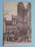 BOMBARDEMENT Antwerpen / Anvers 8 - 9 Oct 1914 Hoek Volk- En Geuzenstraat -Coin Rue Du Peuple ( Zie Foto Voor Detail ) ! - Guerre 1914-18