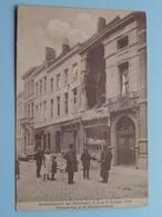 BOMBARDEMENT Antwerpen / Anvers 7, 8 - 9 Oct 1914 Verwoesting In De Diercksenstraat ( Zie Foto Voor Detail ) ! - Guerre 1914-18