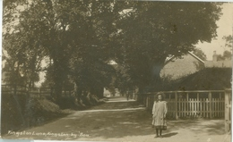 Kingston By Sea 1920; Kingston Lane - Circulated. (The Wells Series) - Other