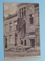 BOMBARDEMENT Antwerpen / Anvers 7, 8 - 9 Oct 1914 Lange Leemstraat 499 En 501 > Geteisterde Huizen ( Zie Foto's ) ! - Guerre 1914-18