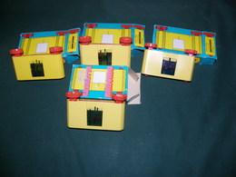 CASSETTE MINEMA , PRODUCTION MECCANO , WALT DISNEY PRODUCTION : 1 LOT DE 4 CASSETTES - Other Collections