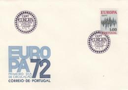 PORTUGAL - LOT ENVELOPPES PREMIER JOUR EUROPA - CEPT - 1966,1967, 1969,1970,1971,1972 - FDC