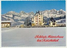 AK  Kitzbühel Schloss Münichau - Kitzbühel