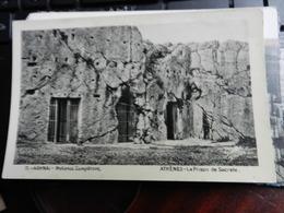 19806) HELLAS GRECIA ATHENS ATHENES LA PRISON DE SOCRATE PRISON OF SOCRATES NON VIAGGIATA FILOSOFIA - Grecia