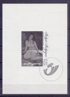 België - 2007 -  Promotie Van De Filatelie. Zittend Naakt Van Amadeo Modigliani. - Feuillets Noir & Blanc