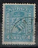 Norwegen 1868, Michel# 14b O - Norway