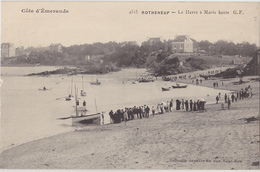 ROTHENEUF   Le Havre à Marée Basse - Rotheneuf