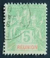 1900 - France (ex-colonies & Protectorats) > Réunion Yt:FR-RE 46, Mi:RE 46 - Oblitéré - Réunion (1852-1975)