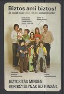 Hungary, Life Insurance., 1980. - Calendars