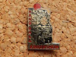 Pin's - HANDBALL KINGERSHEIM - HAUT RHIN 68 - Handball