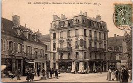 03 MONTLUCON - Boulevard Courtais Et Rue Des Forges - Montlucon