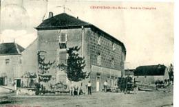 GENEVRIERES      ROUTE DE CHAMPLITTE       MAISON BAUDOT REMILLET  AUBERGISTE - Otros Municipios