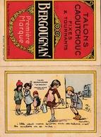 CALENDRIER Petit Format 1929 - BERGOUGNAN - Illustré Par POULBOT - Calendars