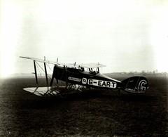 Bristol Aeroplane Company     (tourer Seely ) 24 * 19 CM - Aviación