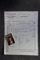 Facture Ancienne - GANGES , Auguste CREGUT, Manufacture De Bonneterie (Spécialité De Bas Et Chaussettes). - Textile & Vestimentaire