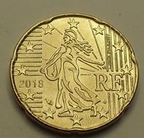 2018 - France - 20 CENTIMES EURO - France