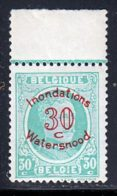 Belgique 1925 Yvert 237 ** TB Bord De Feuille - België