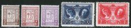 Belgique 1926 Yvert 240 / 244 ** TB - Belgique