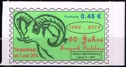 50 Jahre Tierpark Perleberg, SK Für Postkarte ** - Private & Local Mails