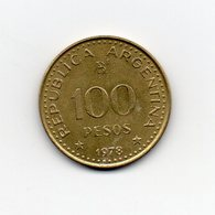 Argentina - 1978 - 100 Pesos - Vedi Foto - (MW1850) - Argentina